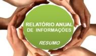 Relatório Anual de Informações – RAI 2017 – RESUMO