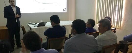 Consultor apresenta informações sobre os Investimentos da FACEPI