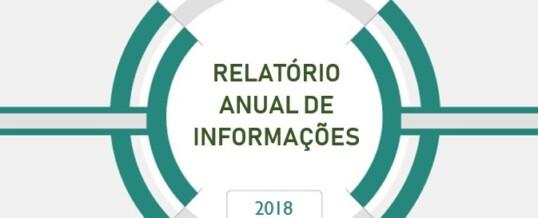 Relatório Anual de Informações – 2018